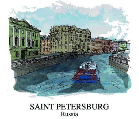 Картины на холсте с изображением СПб