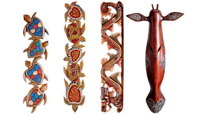 Настенные деревянные украшения