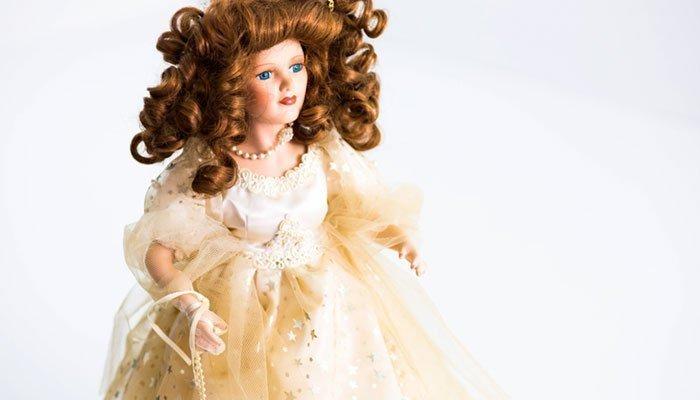 Куклы керамические оптом
