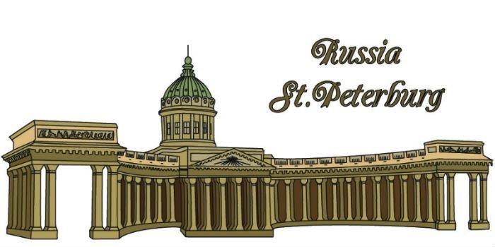 Магазины с подарками символика Санкт-Петербурга
